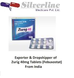 Zurig 40mg Tablets (Febuxostat)
