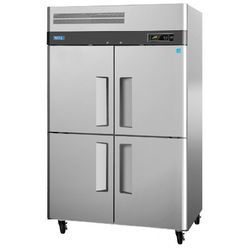 Stainless Steel Silver Four Door Refrigerator