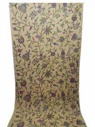 Hand-Loom Cotton Crewel Curtain Fabric