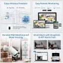 4 Channel Wireless CCTV With NVR-Plug N Play