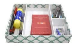 Paper Square Stationary Box for Office