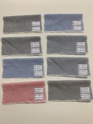 Cotton Shirting Stripe Fabric