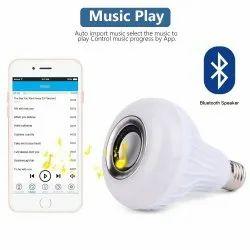 VYAPAK 3W 230V RGB LED Bulb Light Speaker with Remote, Model Name/Number: BulbSpk