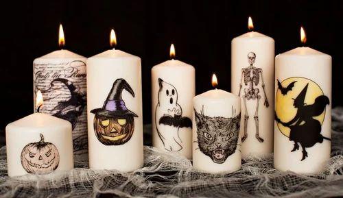 Decorative Candle Halloween Candle, Rs 300 /piece Jm Consilium | ID:  16965385055