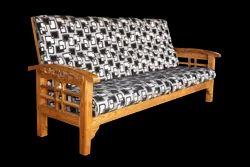 Teak Wood Carved Sofa Including Rest