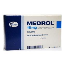 Medrol16mg Tablet