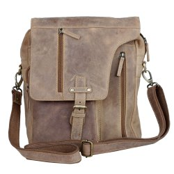 MB01 - Premium Quality Hunter Leather Messenger Bag