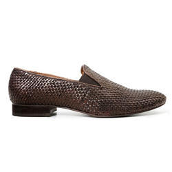 Brown Men Leather Trending Shoes