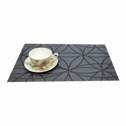 PVC Dining Table Placemat, Size: 12 X 18 Inch