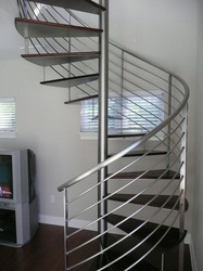Fully Spiral Railing