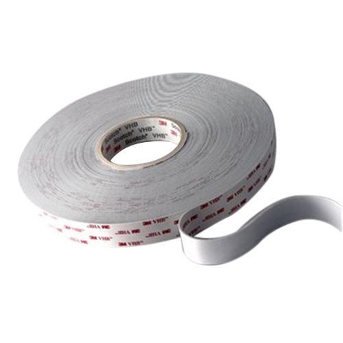 3M 4611 CIRCLE-4-100 Gray Firm VHB Foam Tape 0.045 Thickness 4 Length 4 Width Pack of 100 Pack of 100 3M 4611 CIRCLE-4-100 -31 to 300 degrees F 0.045 Thickness 4 Length 4 Width