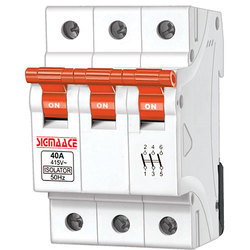 3 Pole Isolator Switching Device
