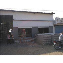 Factory ACP Panel Cladding Work