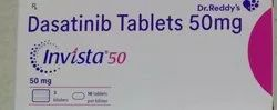 Invista 50mg Tablets ( Dasatinib 50mg Tablets) Dr.Reddy''s Labortories Ltd