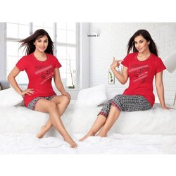 Ladies Half Sleeve Lycra T Shirt
