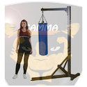Punching Bag Rack