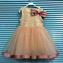 Golden Mini Party Wear Dress