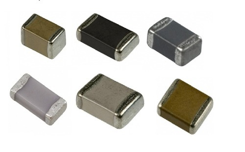 Ceramic smd capacitors, for electronics equipments, Rs 0.5 /unit | ID:  19575564333