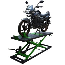Two Wheeler Ramp For Vehicle Garage
