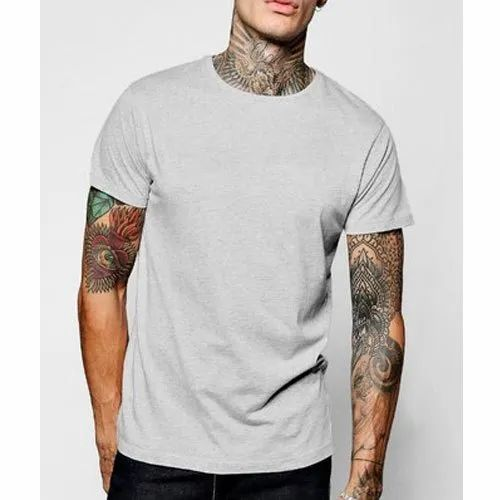 Round Neck Men Style T Shirts Packaging Type Packet Rs 350 Piece Id 4582904391