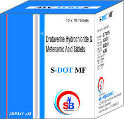 Drotaverine Hcl 80mg Mefenamic Acid 250mg