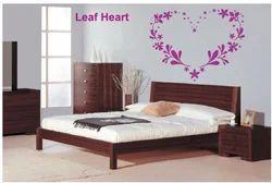 Big Stencils Leaf Heart