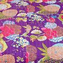 Attractive Floral Print Double Bedcover 530