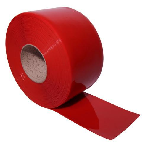 Red Welding Grade Pvc Strip Curtain Roll
