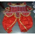 Meghnath Red Costume, Size: M