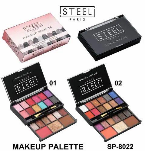 Eyeshadow Makeup Kit Steel Paris