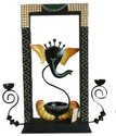 Iron Frame Ganesh Candle