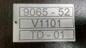 Aluminum Metal Name Tags
