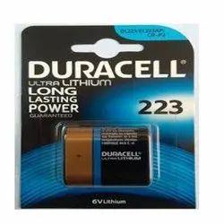 CR-P2 -223 Duracell 6 Volt For Sensors Lithium Battery