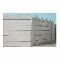 Warehouse Compound Wall