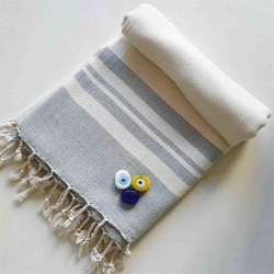 100% Bamboo Beach Bath Fouta Towel