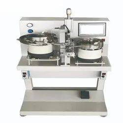 Semi Automatic and Plastic Button Attaching Machine For Face Shield And Garments