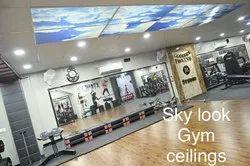 Skylook Gym Ceilings