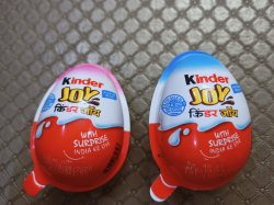 Ferrero rocher Round Kinder Joy Chocolate, Packaging Type: Carton -144 Pcs