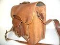 Goat Leather Retro Design Laptop Bag
