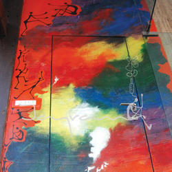 Multi Color Wall Painting Rs 500