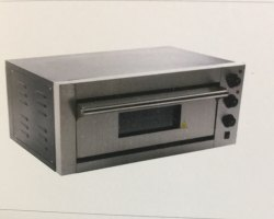 Industrial Single Deck Oven Electric Stone Pizza Oven, Size/Dimension: Small, Capacity: 2.0