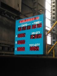 Industrial Production Display Boards