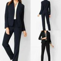Cotton Front Office Uniforms blazer