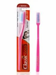 Plastic and Nylon Classic Gold Toothbrush