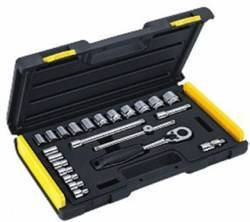 24 Pc. 3/8 Sq.dr. 6pt Socket Set
