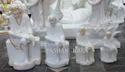 White Hindu Sai Baba Marble God Statue, For Worship