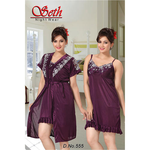 Ladies Two Piece Nighty at Rs 255  piece  6bcfcfe2e