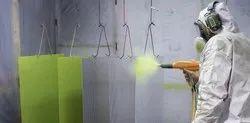 Gray Metal Powder Coating Services