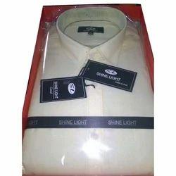 Cotton Plain Boys Full Sleeve Shirt