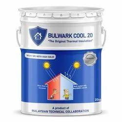 Bulwark High Gloss Solar Reflective Paint, Brush, Liquid